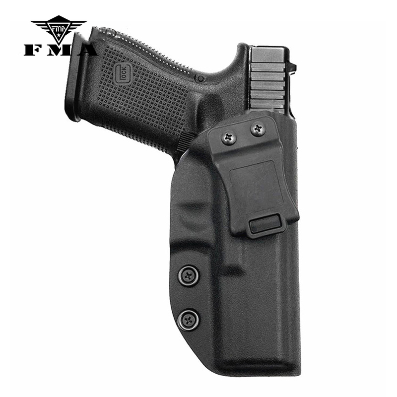 Dentro da Cintura Coldre para Glock Tático Glock Coldre Escondido Transportar Mão Direita Pistola Kydex 17 – 22 31 Fma