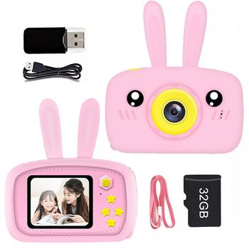 Aparat fotograficzny dla dzieci aparat cyfrowy 2 0 cala aparat fotograficzny dla dzieci zabawki prezent urodzinowy dla dzieci 12MP 1080P aparat fotograficzny dla dzieci tanie i dobre opinie 2x-7x CN (pochodzenie) Brak Hd (1280x720) 4 3 cale 18-55 mm 10 0-20 0MP Karta SD Standardowy ekran 2-3 Obraz JPEG Wideo AVI
