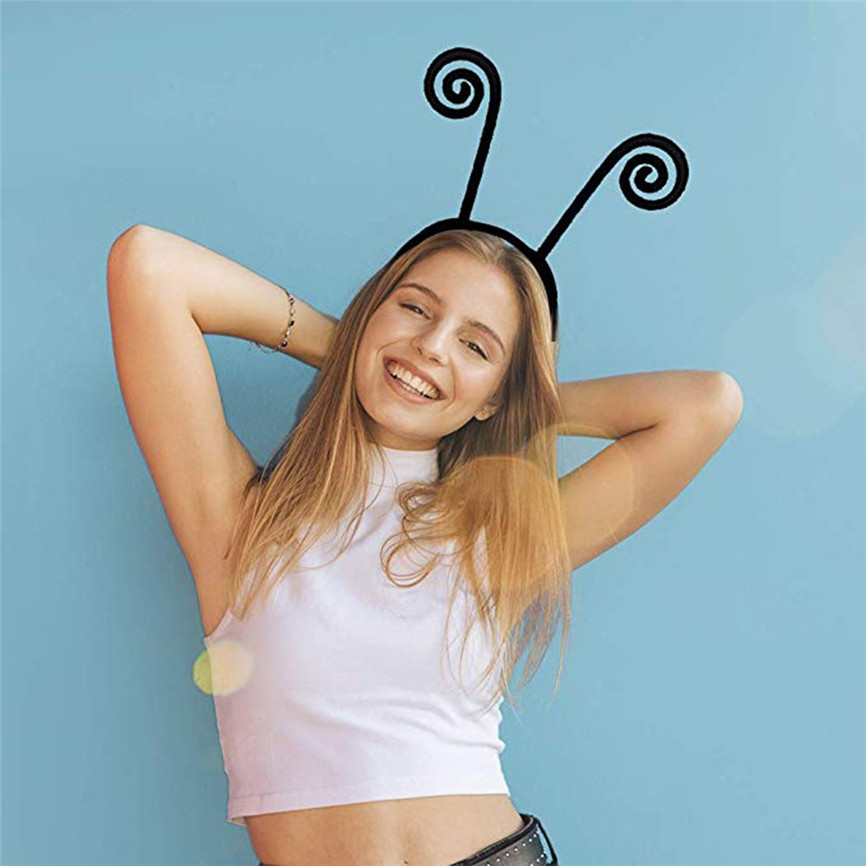 Adult Kids Cute Headband Butterfly Antenna Design Hair Band Cosplay Costume Headband Hair Styling Ozdoby Do Wlosow Cute 201915
