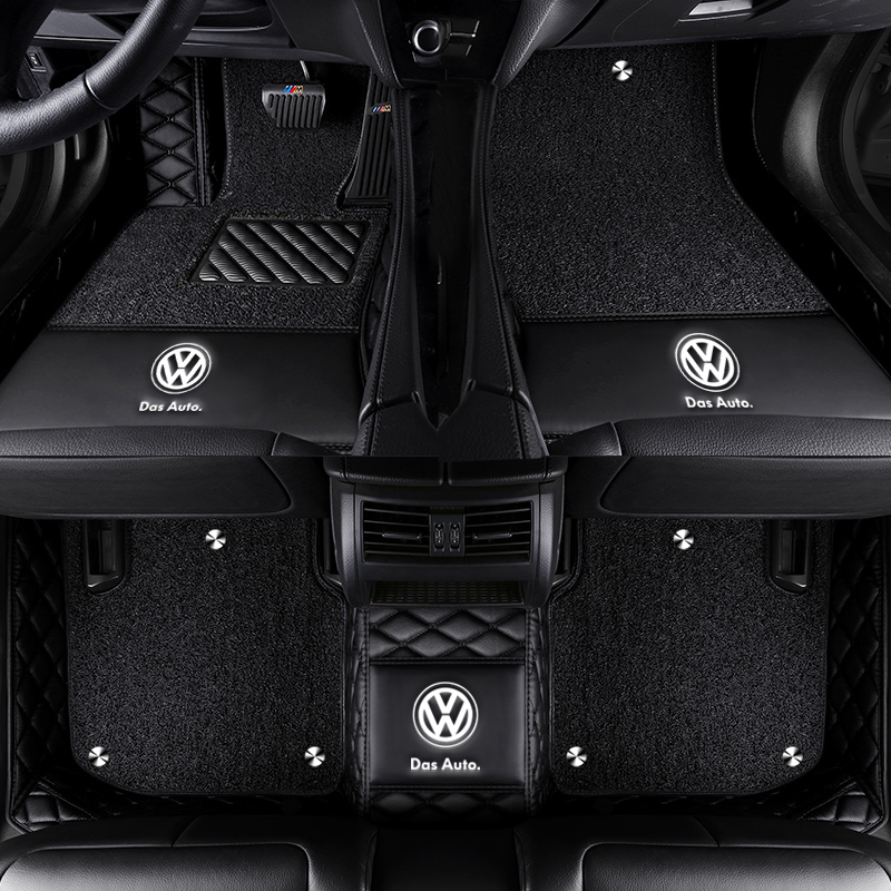 Car floor mats with Logo/Brand Logo special for <font><b>Mercedes</b></font> Benz <font><b>S</b></font> <font><b>class</b></font> W221 <font><b>W222</b></font> S400 S500 S600 L all weather rug car-styling rug image