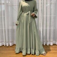 Abaya Dubai Turkije Moslim Mode Hijab Jurk Abaya Voor Vrouwen Islam Plus Size Kleding Vestidos Kaftan Robe Musulman De Modus