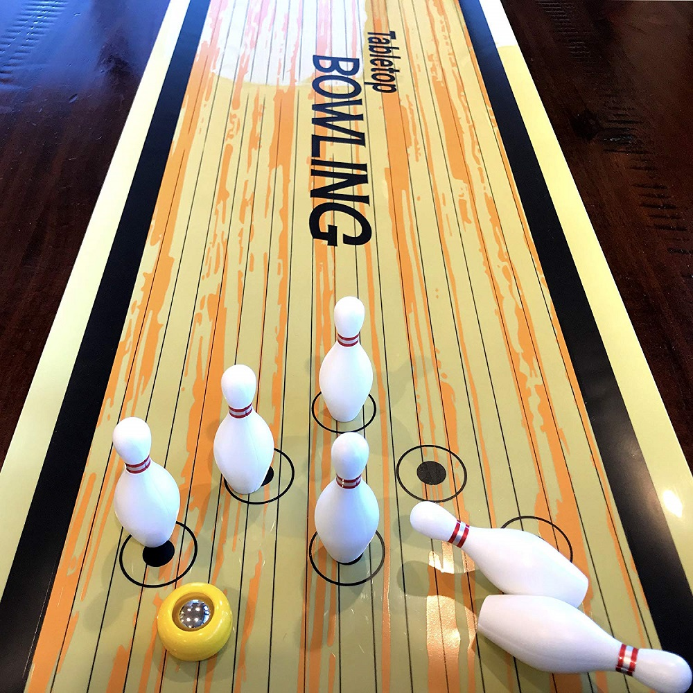 Table Bowling Shuffleboard Curling Board Game For Travel Bar School Training Family Puzzle Children' Sports Toys 28*120 Cm