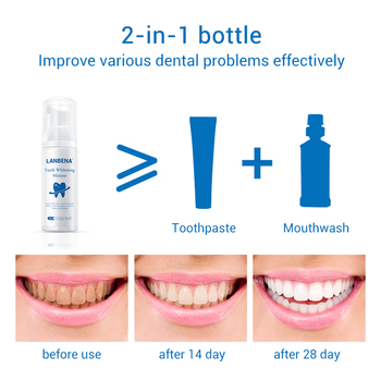 Teeth Whitening Mousse Toothpaste Dental Hygiene Health & Beauty