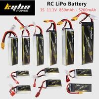 3S RC LiPo Batterie 11 1 V 850mAh 1100mAh 1300mAh 1500mAh 2200mAh 2600mAh 3300mAh 4200mAh 5200mAh 25C 35C 45C Für RC Drone Batterie-in Teile & Zubehör aus Spielzeug und Hobbys bei