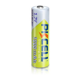 Image 4 - 20pcs PKCELL AAA 배터리 1000mAh 3A 니켈 수소 AAA 충전식 배터리 배터리 1.2V NIMH Baterias 카메라 손전등 완구