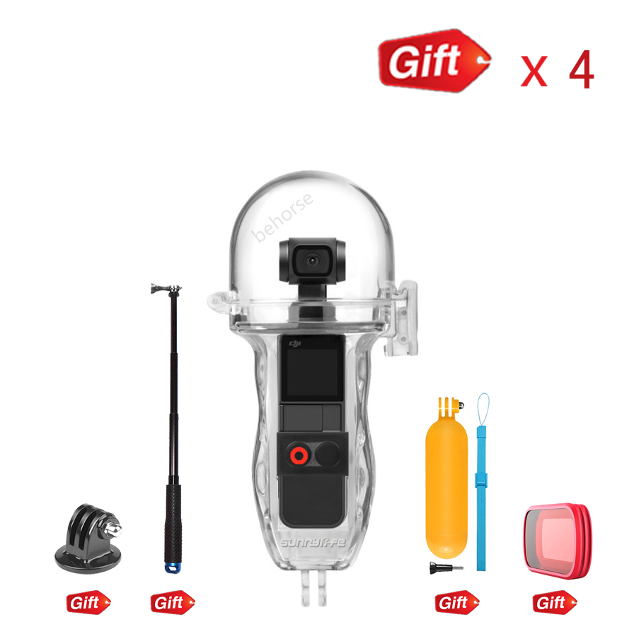 DJI Osmo Pocket Dive Case Housing Waterproof Case Protective Diving Case Shell 60M Depth Camera Osmo