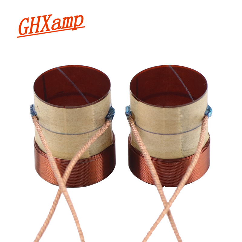 GHXAMP Speaker Accessories 25.5mm 4OHM Bass Voice Coil 25.5 Core Four-Layer Coil High-Quality 2PCS