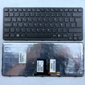 Французский Бельгия Azerty арабский латинский Болгария клавиатура с подсветкой для Sony Vaio VPC-CA15 CA16 CA17 CA35 VPC-CA36 VPC-CA1S1E серии