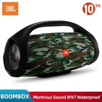 Original JBL BOOMBOX Portable Bluetooth Speaker IPX7 Waterproof Wireless loudspeaker Dynamics Musical Subwoofer Loudspeaker
