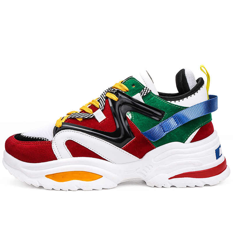 Ayakkabı erkekler 2019 erkek ayakkabı sneaker moda yüksek kaliteli Masculino Adulto Chaussure Homme Zapatillas Hombre Deportiva