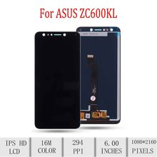 Original For ASUS ZenFone 5 Lite 5Q ZC600K X017DA LCD Display Touch Screen Digitizer For Asus ZC600K Display with Frame S630 LCD