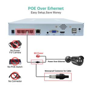 Image 3 - 4CH 4MP POE Kit H.265 System CCTV Security NVR Outdoor Waterproof IP Camera Surveillance Alarm Video Record