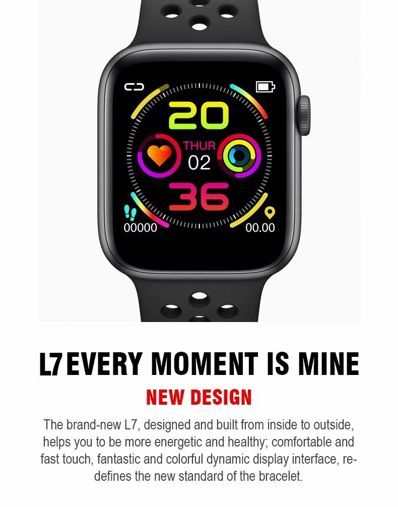 <font><b>Smart</b></font> <font><b>Watch</b></font> Bracelet <font><b>W5</b></font> IP67 Waterproof Bluetooth Smartwatch with 1.54 inch IPS Touch Screen Heart Rate/Sleep/Blood Pressure image