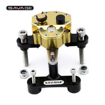 Steering Damper Stabilizer For SUZUKI GSX1300R HAYABUSA 2008-2020 19 18 Adjustable Motorcycle Accessories Bracket Reverse Safety - DISCOUNT ITEM  11% OFF All Category