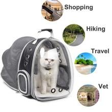 Mochila porta gato transportadora portátil para Mascotas, bolsa para Gatos, mochila transportadora para exteriores