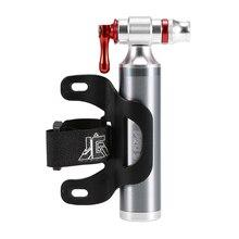 Велосипед ручной надувной велосипед Велоспорт CO2 шин Портативный Presta Schrader двойной клапан экстренный насос