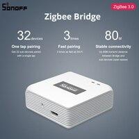 SONOFF ZBBridge Smart Zigbee Brücke Zigbee 3,0 APP Drahtlose Fernbedienung Smart Home Brücke Arbeitet Mit Alexa Google Hause