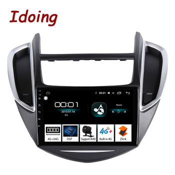 "Idoing 9""2.5D IPS Car Android 8.1 Radio Multimedia Player For CHEVROLET TRAX 2014-2016 4G+64G Octa Core GPS Navigation no 2 din"