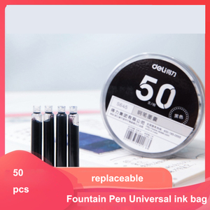 Fountain Pen Ink Cartridges pen refill Fountain Pen Universal ink bag replaceable ink bag Writing Implement