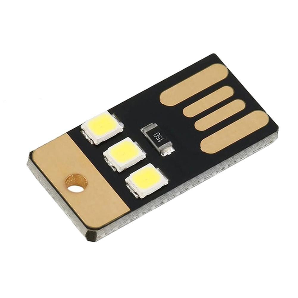 Прочная Многофункциональная портативная мини-лампа для кемпинга, ультратонкая переносная Светодиодная лампа с USB, освесветильник для кемп...