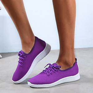 DIHOPE Breathable Sneakers Canvas-Shoes Flat Femme Summer Women Mesh Outdoor Soft Casual