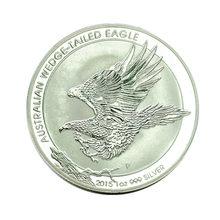 Australian Wedge-tailed Eagle Commemorative Coins Back Side Elizabeth II Australia 1 Dollar