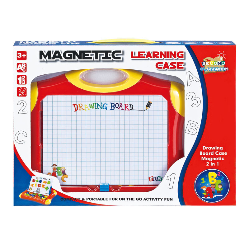 Magnetic Drawing Board CHILDREN'S Drawing Board Teaching Aids With Magnetic With Numbers Symbol English Letters Posted Series Co