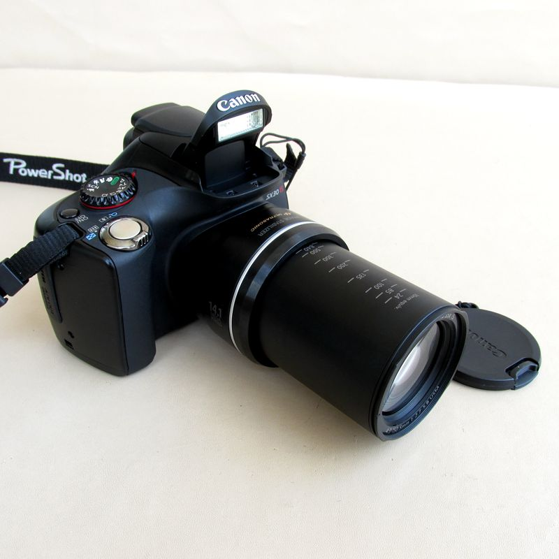 USED Canon POWERSHOT SX30IS 14.1MP Digital Camera with 35x Wide Angle Optical Image Stabilized Zoom and 2.7 Inch Wide LCD