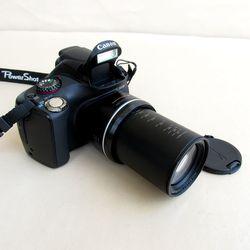 VERWENDET Canon POWERSHOT SX30IS 14.1MP Digital Kamera mit 35x Weitwinkel Optische Bild Stabilisierte Zoom und 2,7 Zoll Breit LCD