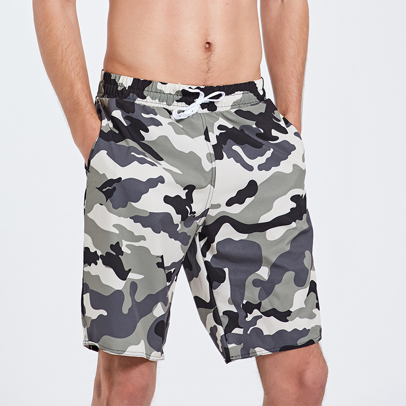 Sbart Men's Casual Sports Affordable Shorts Fashion Summer Loose-Fit Seaside Holiday Quick-Dry Beach Shorts