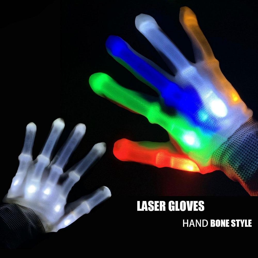Laser Gloves Led Gloves Costume Led Clothing Led Light Costume Handschuhe Men Gloves Women Gloves LED Suit Rave Light Gloves
