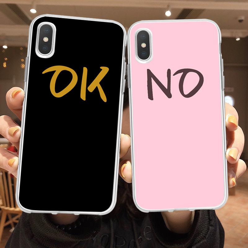 Soft Silicone Transparent Phone Case Coque For iPhone xr 7 8 6 6S Plus XS MAX 5 5S NO OK Cover