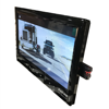 7 Inch Dash Board Rear View Parking Display Monitor with Video Input USB SD Card Port DC 12 to 24 Volt Power-off Memory Playback review