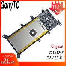 GONYTC 7.5V 37WH C21N1347 Mới Ban Đầu Pin Dành Cho Laptop Dành Cho ASUS X554L X555 X555L X555LA X555LD X555LN X555MA 2ICP4/63/134
