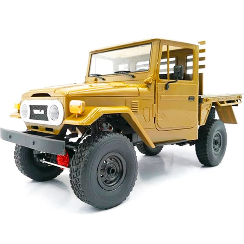 WPL C44KM RC Car 1/16 4WD 2CH Crawler Remote Control  Car Off-Road Car With Light Metal Edition Unassembled Kit Toys Vehicles