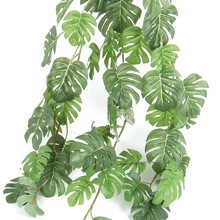 66/80cm Fake Turtle Leaf Rattan Plants garland home garden decor Silk Tropical Palm Leaves fake plant Artificial green leaves artificial ivy green leaf wicker garland plants vine fake foliage home garden leaves osier decor fake rattan string grass cactus