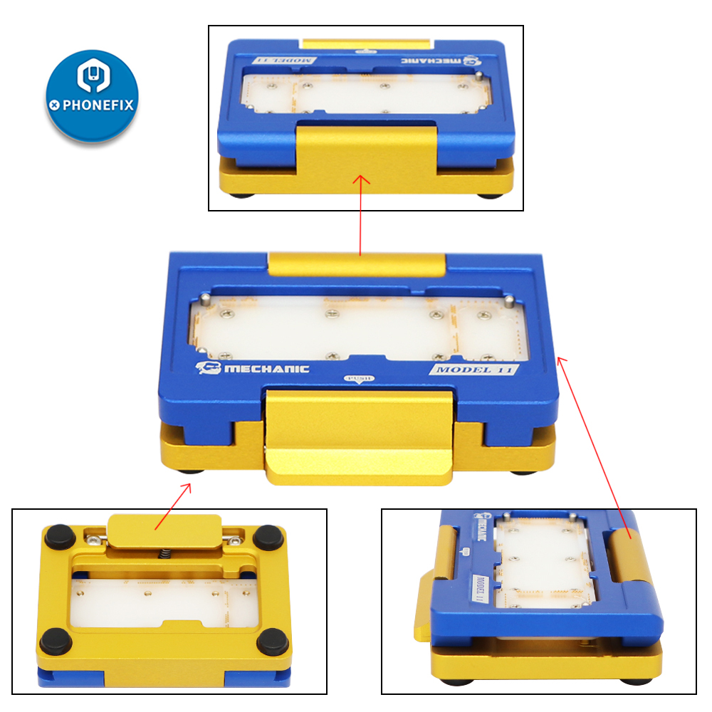 Mechanic Layered Fixture Universal Molds 3 IN 1 Motherboard Fixture For IPhone X XS MAX Repair Separating Teardown Test Jig