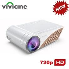 VIVICINE Proyector de vídeo para cine en casa, 720p, barato, inteligente, LED, HD, V300, actualizado, V600, portátil