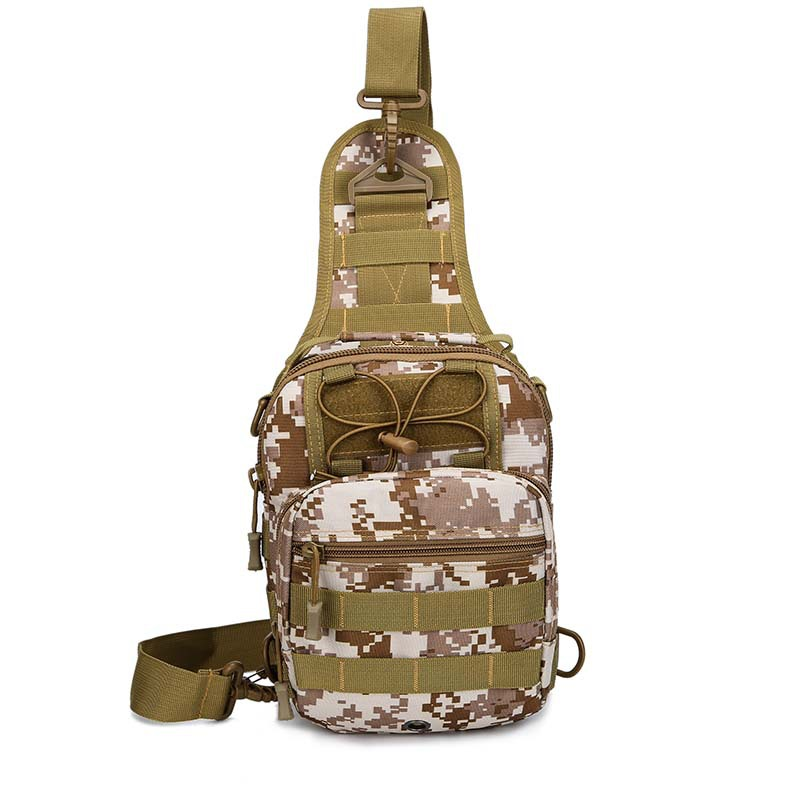 Army Fans 2018 New Style Tactical Chest Pack Men Korean-style Camouflage Multi-functional Shoulder Bag Military Dual Purpose Sho