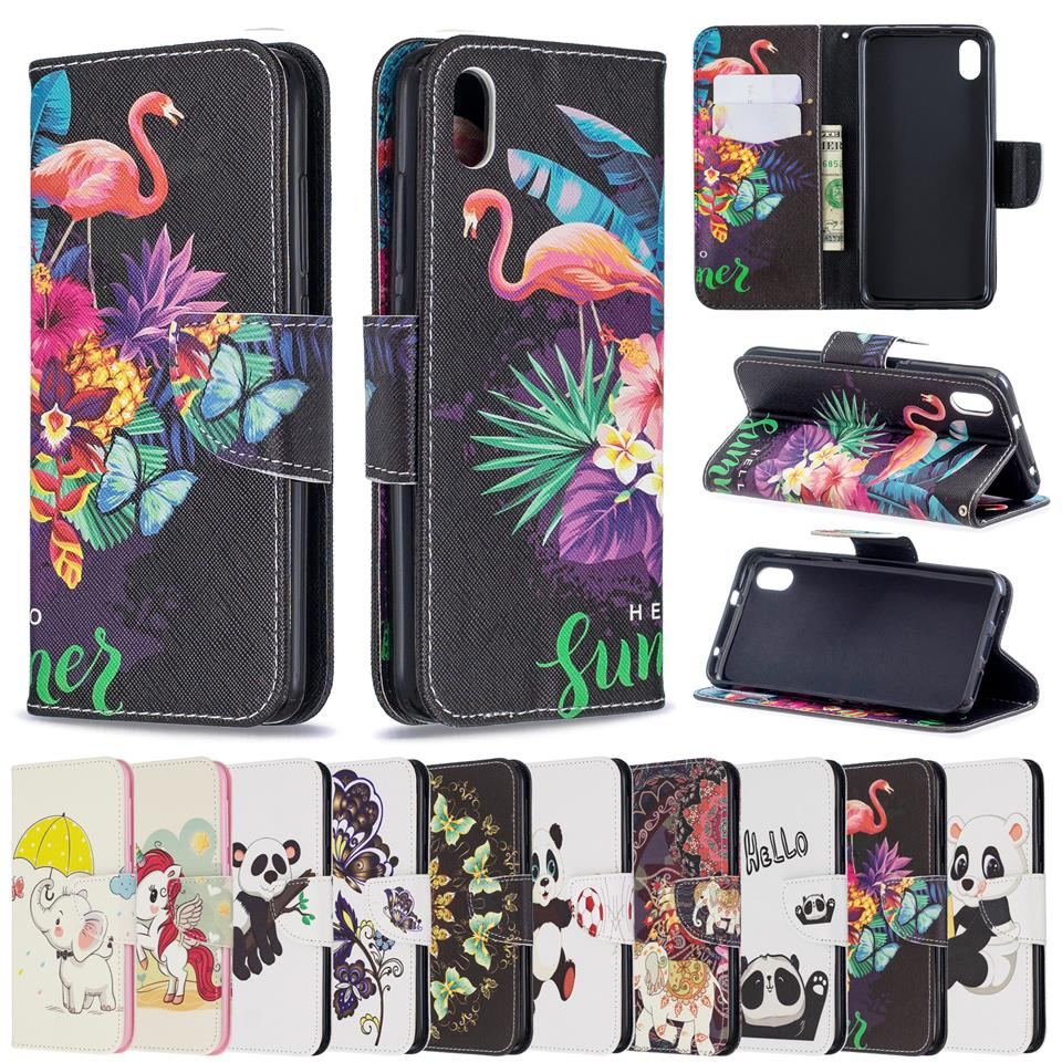 Fashion Flamingo Leather <font><b>Case</b></font> Phone <font><b>Flip</b></font> Wallet Soft Silicone Cover Shell for <font><b>Samsung</b></font> Galaxy J2Pro J4 J6 2018 J3 <font><b>J5</b></font> J7 <font><b>2017</b></font> EU image