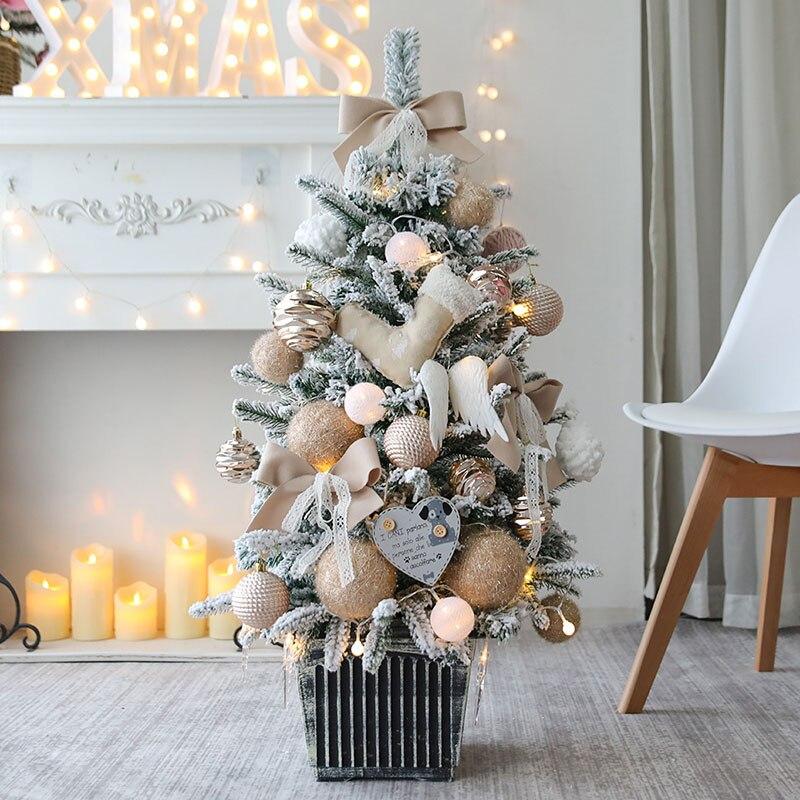 Рождественская елка, праздничный подарок, украшение рождественской елки, комбинированное украшение для торгового центра, рождественские украшения - 4