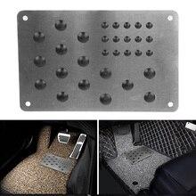 Floor-Mat Carpet-Patch Anti-Skid-Pad Foot-Heel Universal Silver Non-Slip Scuff-Plate