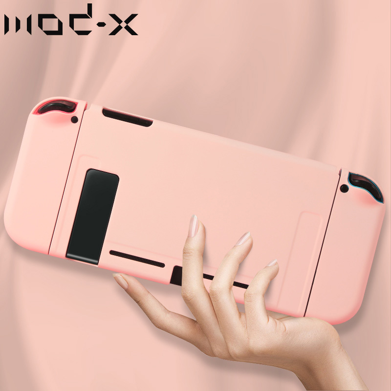 ModX Pink Blue Color Protective Case For Nintendo Switch Case Bag For Nintend Switch NintendoSwitch NS Shell Cover Game Console(China)