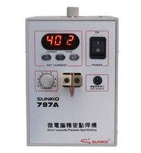 SUNKKO HOT SALE 797A 18650 foot pedal-controlled, battery spot welding touch welder battery welding machine