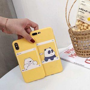 Чехол для Xiaomi Redmi Note 7 5 4 4X 6A, чехлы для телефонов, силиконовый мягкий матовый чехол с милым медведем, котом, сердечком для Xiomi Redmi Note 4
