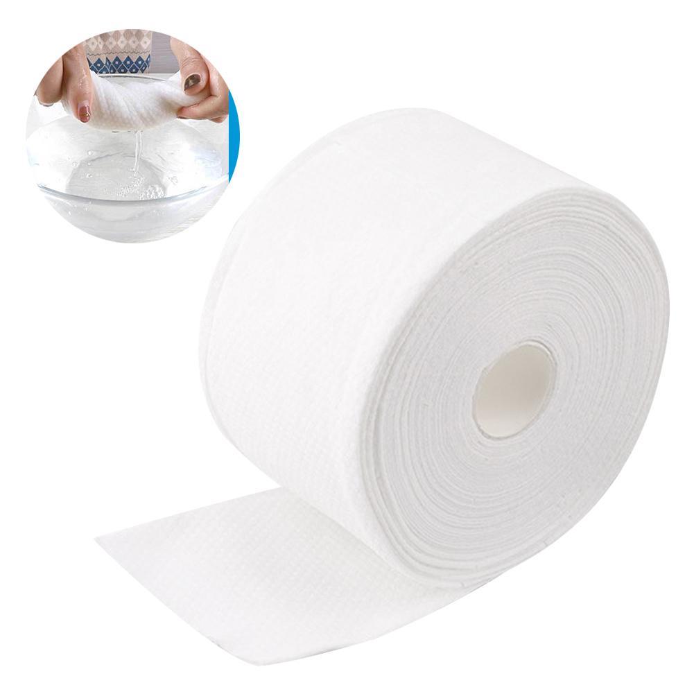 Disposable Face Towel Facial Cleansing Makeup Remover Cotton Tissue Paper Roll платки носовы полотенце для мужчин Fast Shipment
