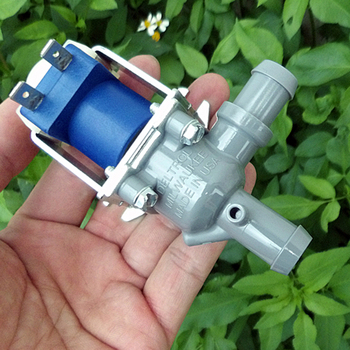 DELTROL DC12V 12W Large Flow Small Mini Electric Solenoid Valve N/O Normally Open For Air Water Valve image