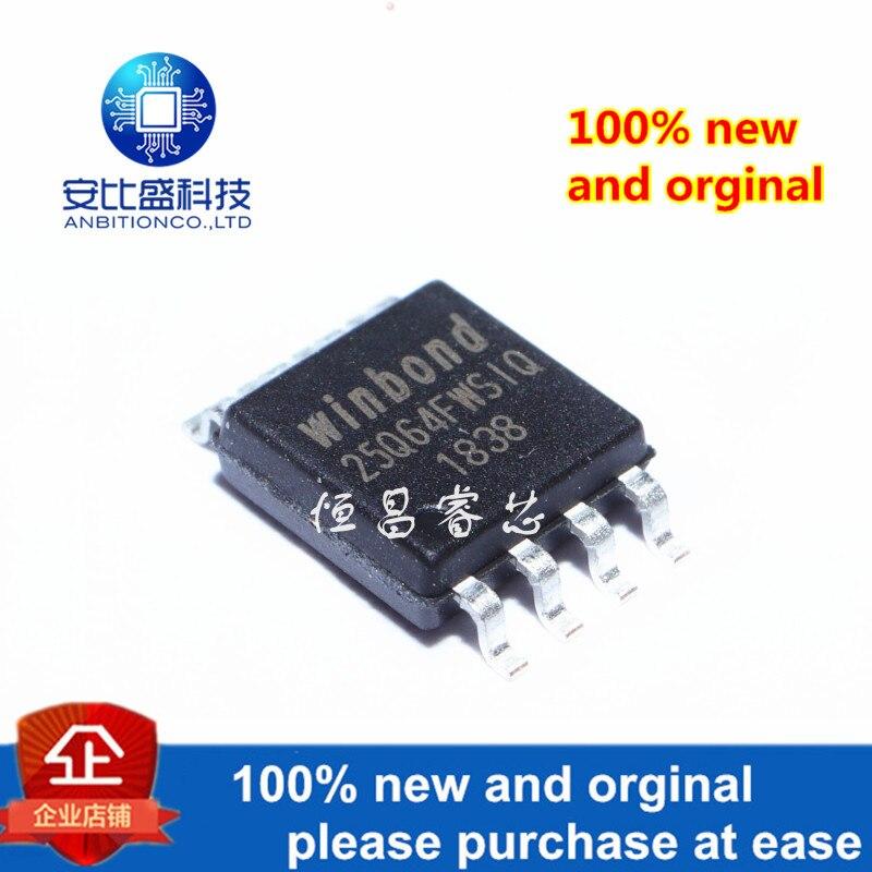 5pcs 100% New And Orginal W25Q64FWSSIQ Silk-screen 25Q64FWSIQ 64Mbit SOP8 In Stock