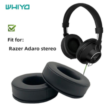 Whiyo Replacement Ear Pads for Razer Adaro stereo Headphones Cushion Earpad Cups Earmuffes Cover Sleeve