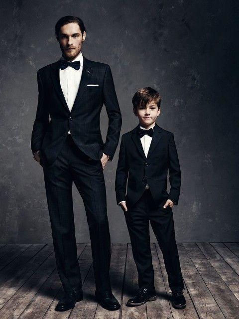 Boys Kids Suits Formal Weddings Suits For Men 4 Pieces 2 Suits Costume Homme Mariage Father And Son Matching Cloth Suit